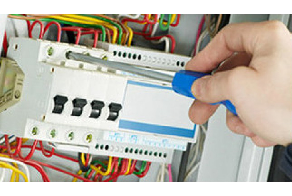 Электроподключение привода распашных ворот Rotelli MT400